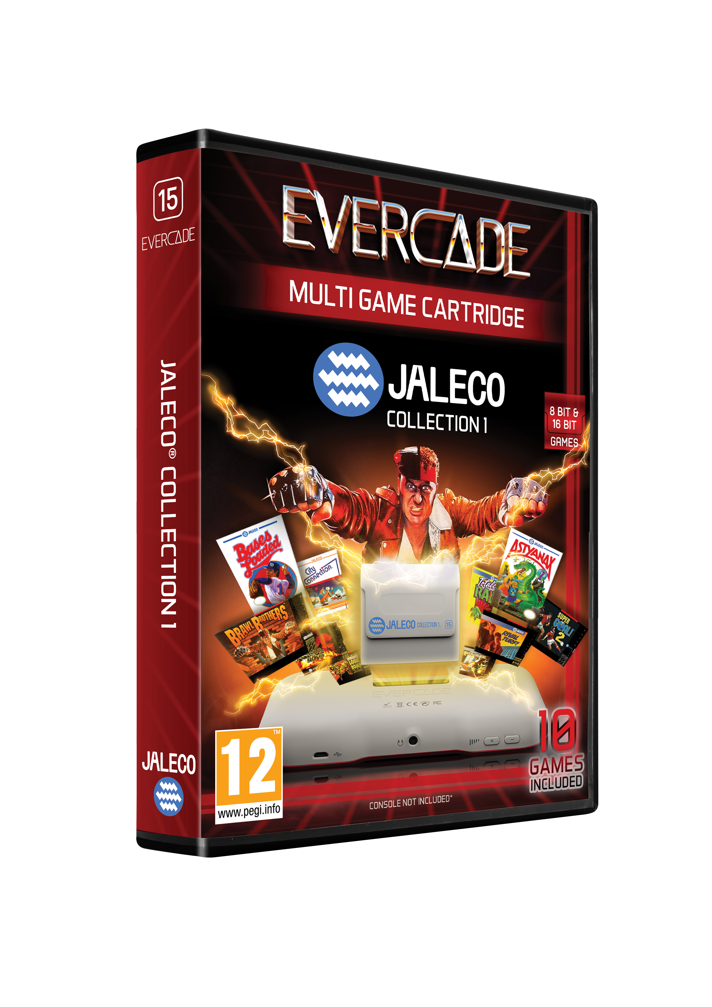 Evercade Jaleco - cartridge 1
