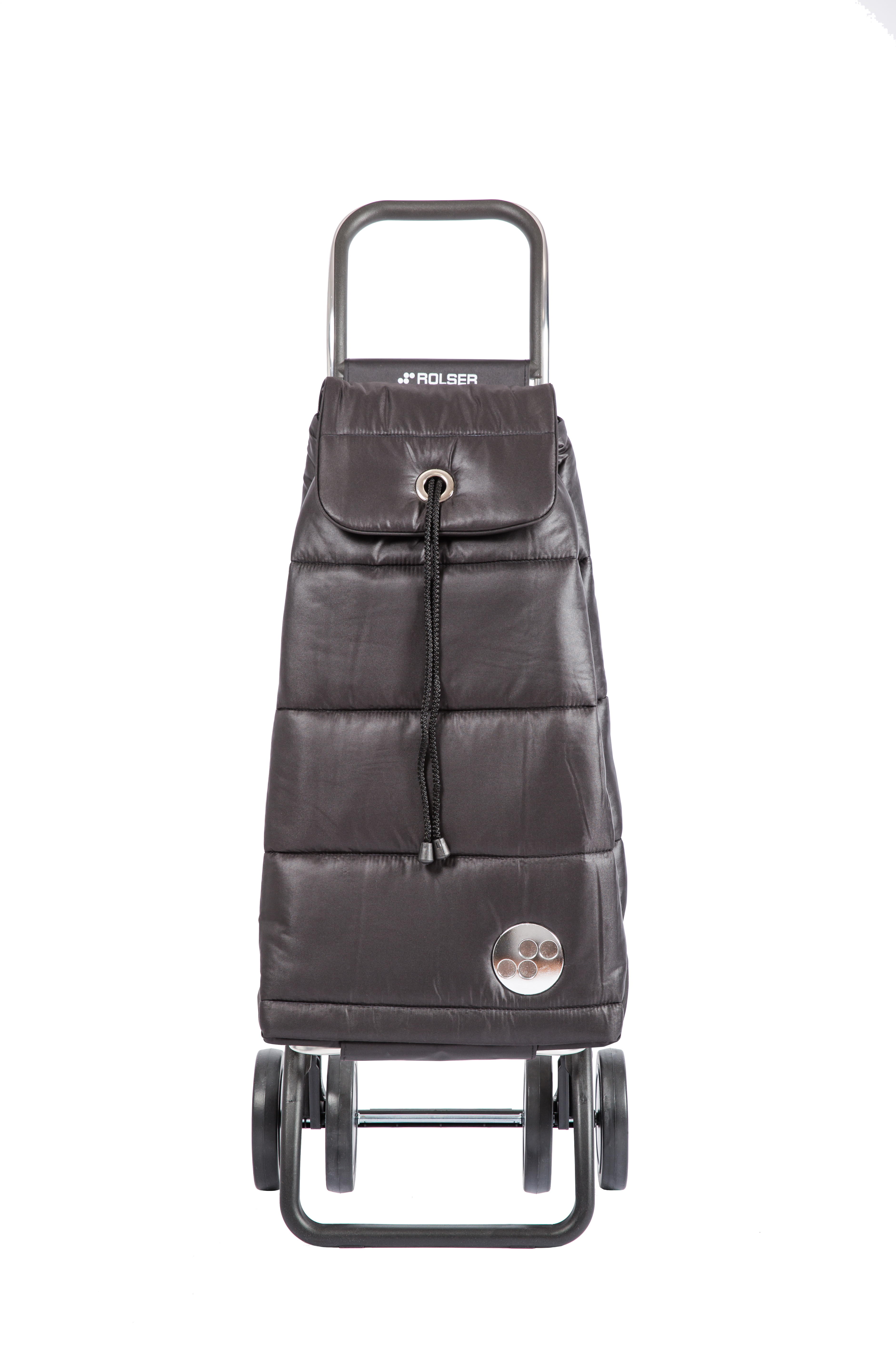 Rolser shopping trolley - Pac Polar (Negro / Logic Dos+2)