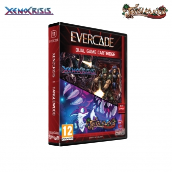 Evercade Xeno Crisis & Tanglewood - Cartridge 1