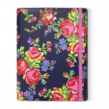 Accessorize Navy Rose tablet case (7/8