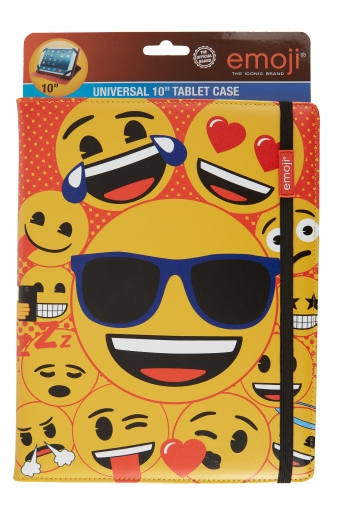 "Emoji Cool – tablet case 10"" (universeel)"