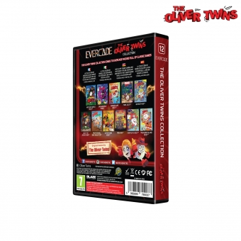 Evercade The Oliver Twins Collection - Cartridge 1