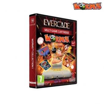 Evercade Worms - Cartridge 1